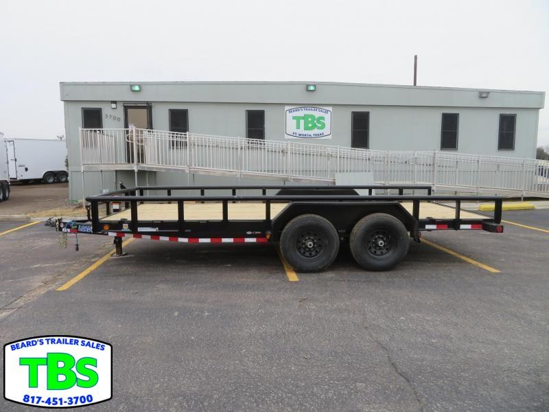 2020 Load Trail 83x18 Equipment Trailer