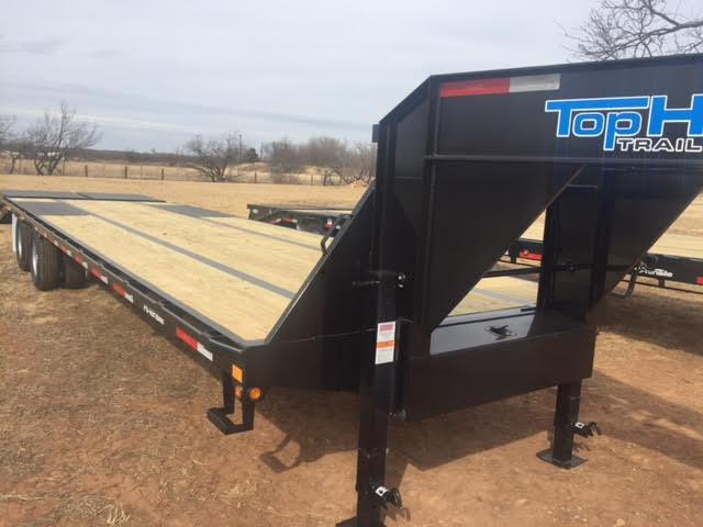2018 Top Hat GN240HD32 Equipment Trailer