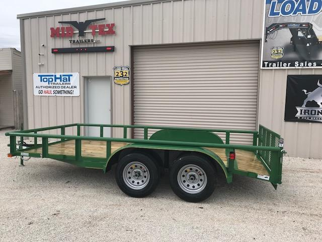2019 Top Hat 83X14MP Utility Trailer