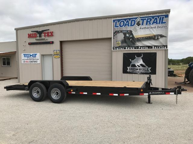 2018 Iron Bull EH83X20 Equipment Trailer