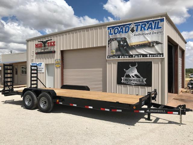 2018 Iron Bull EH83X22 Equipment Trailer