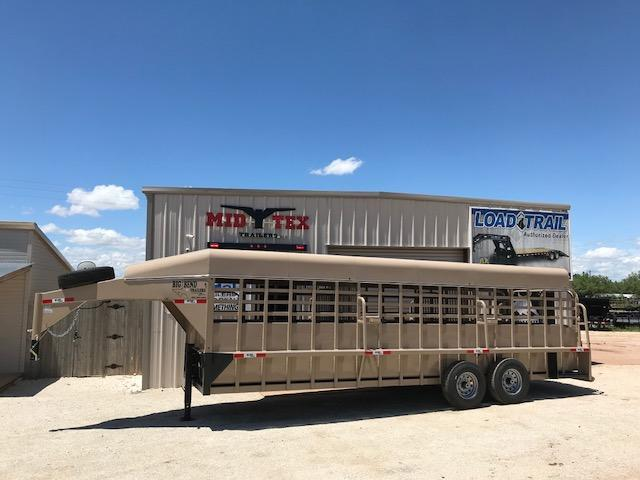"2019 Big Bend 6'8""X24' Gooseneck Livestock Trailer"