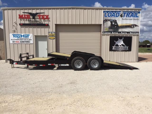 2019 Iron Bull TLB83x20 Tilt Low Pro Equipment Trailer