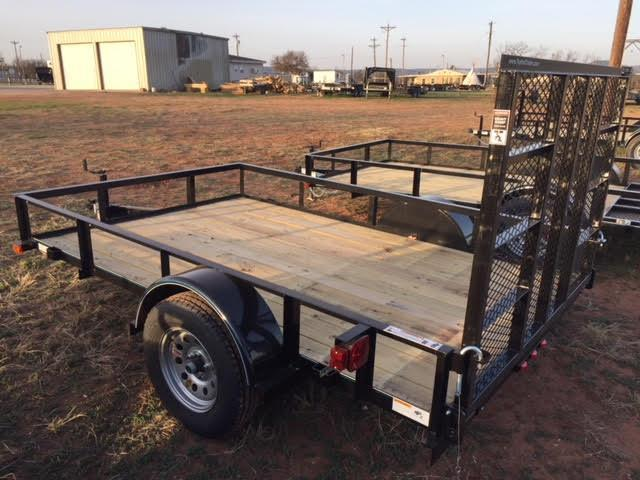 2019 Top Hat 77X10DSA Utility Trailer