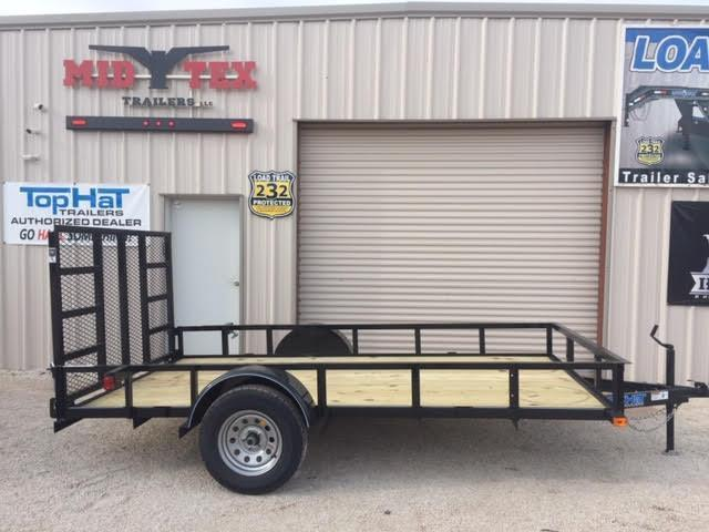 2019 Top Hat 77X12DSA Utility Trailer