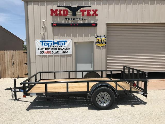 2019 Top Hat 77X12DSP Utility Trailer