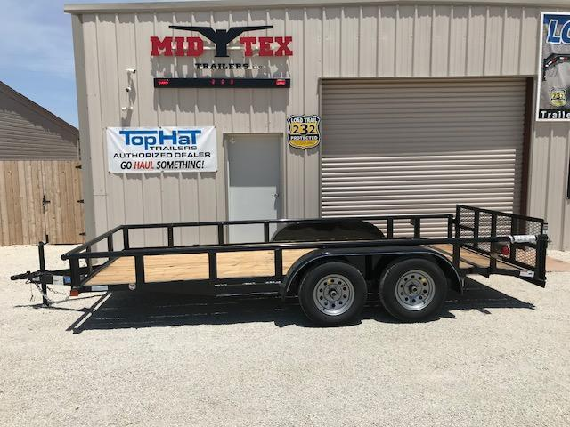 2019 Top Hat 83X16MP Utility Trailer