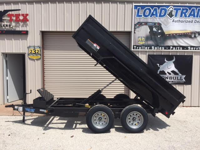 2018 Top Hat Trailers DP70- 5X10' Dump Trailer