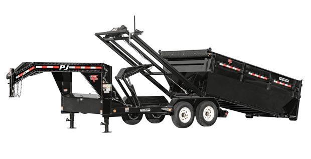 2020 Pj Gn Rollster 14' Roll Off Dump