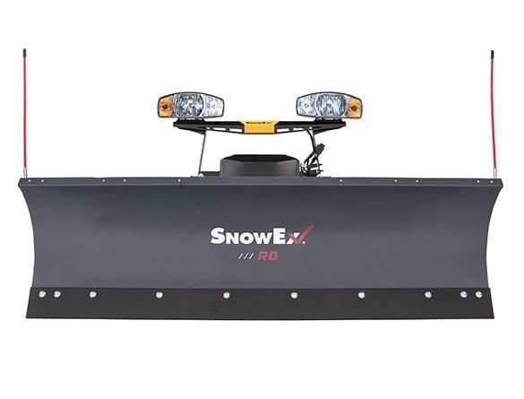 "2019 Snowex 7600 Rd 7'6"" Steel Blade"