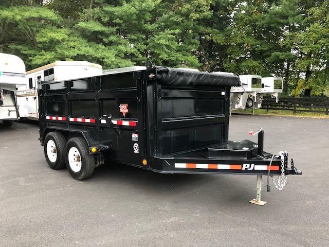 2017 Pj 12x83 Low Pro High Side Dump
