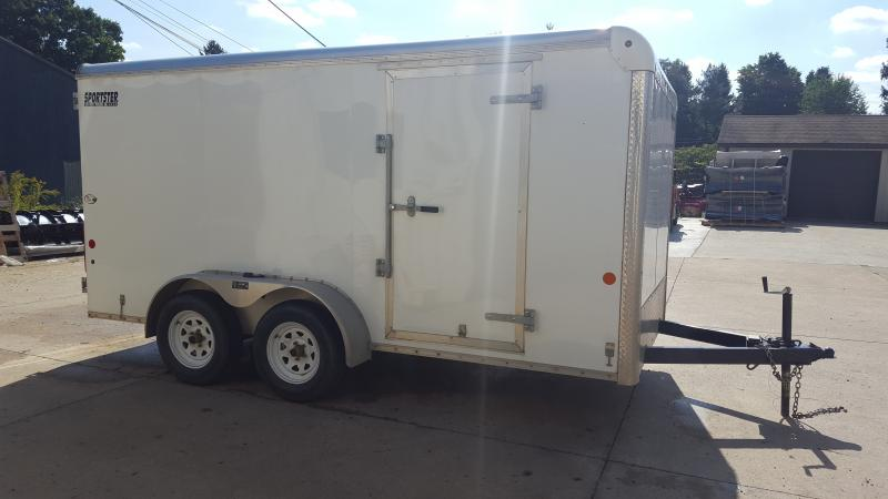 Used 2016 Car Mate Trailers CM 714EC-HD Enclosed Cargo Trailer