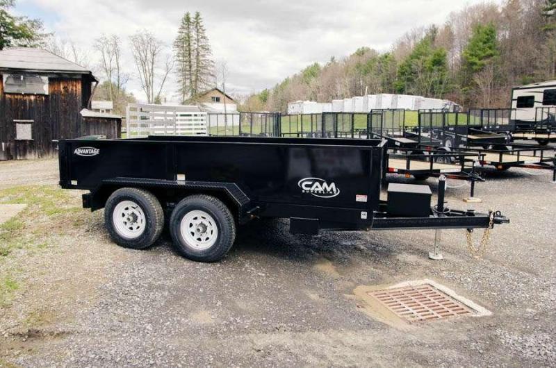 CAM 10-610LPDT-GR Dump Trailer