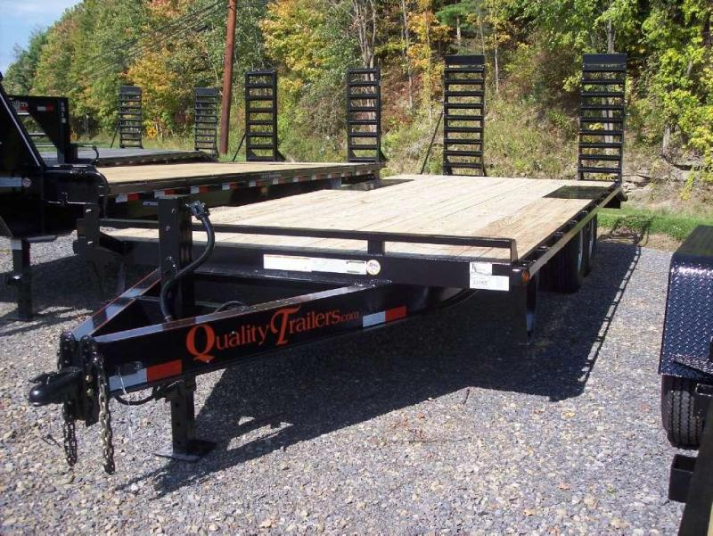 Quality Trailers QU 818+4PG-14 Equipment Trailer
