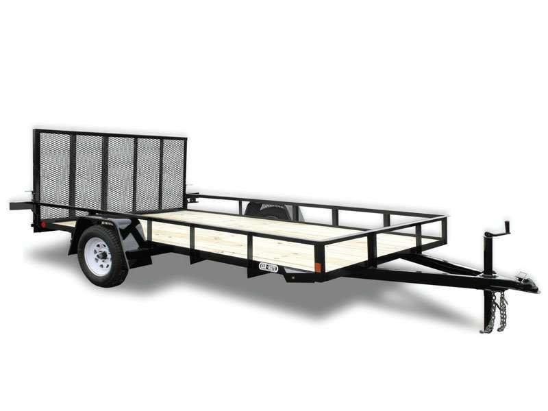 Car Mate Trailers 6 x 12 A-Series Utility Trailer