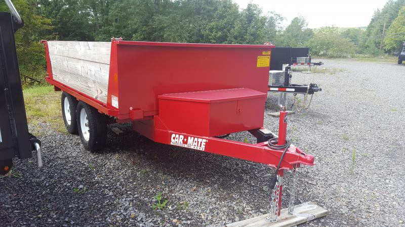 Car Mate Trailers 6 x 10 Dump Trailer