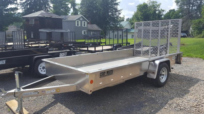Car Mate Trailers 6 x 13 Aluminum Utility Trailer