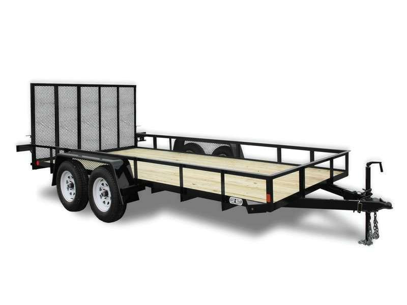 Car Mate Trailers 6 x 18 HD A-Series Utility Trailer