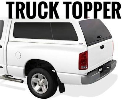 ARE DCU ALUMINUM 5FT TRUCK TOPPER (TACOMA 05-15)