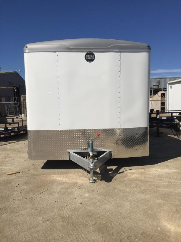 ENCLOSED TRAILER RF85X204 (5803WC)
