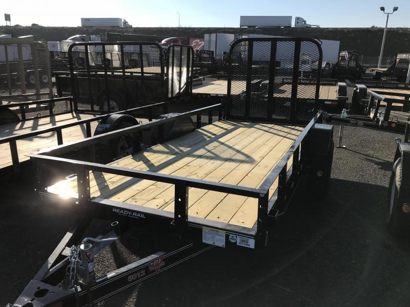 2018 PJ Trailers 12X60 Single Axle Channel Utility