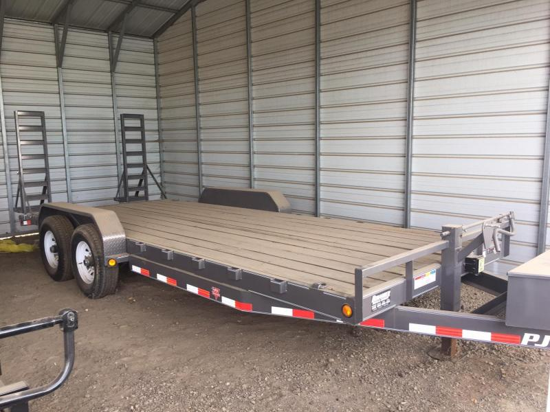 2015 PJ Trailers CC 20x6 Equipment Trailer