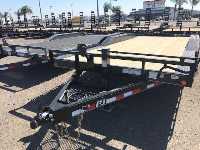 2019 PJ Trailers 18X6 Channel Super Wide