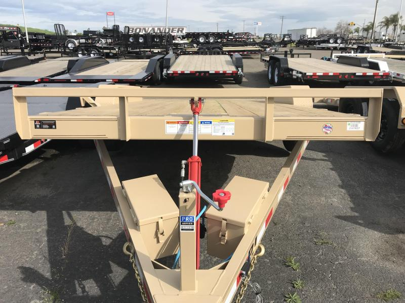 2019 PJ Trailers 18X83 Hydraulic Quick Tilt (TH) Equipment Trailer