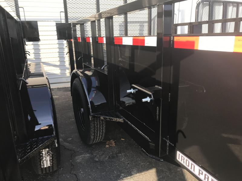 2019 Iron Panther 6.5X12 Landscape Trailer