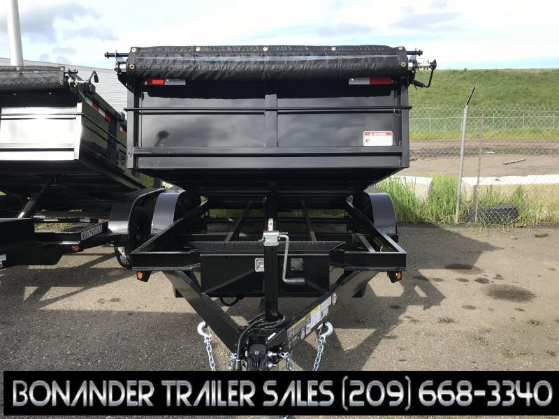 2019 Iron Panther 6X12X2 Dump Trailer