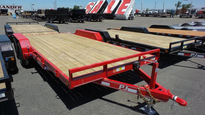 2018 PJ Trailers 18X5 Channel Equipment