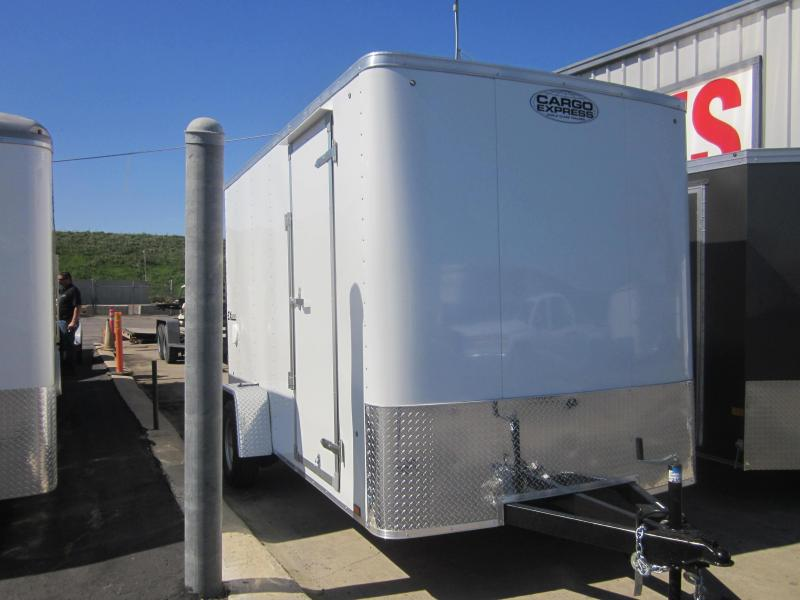 2018 Cargo Express 7X16 Enclosed Trailer
