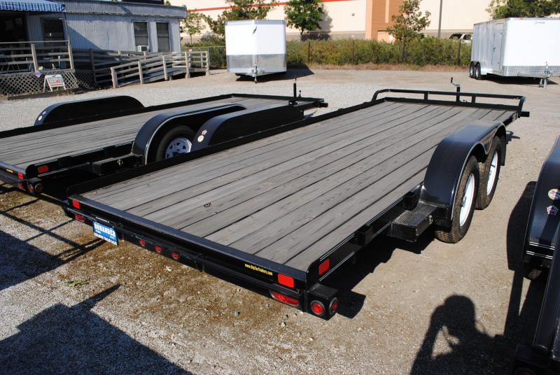 2014 Big Tex Trailers 70CH-12BK Flatbed Trailer