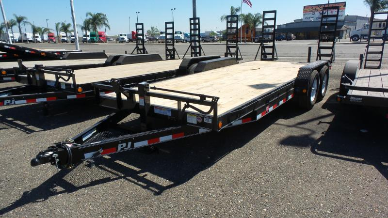 2018 PJ Trailers 20X6 Channel Equipment