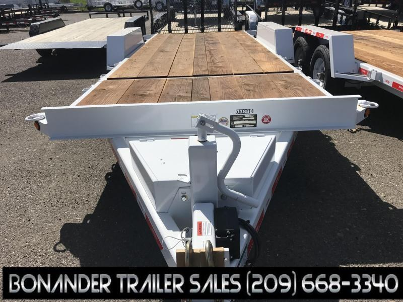 2019 TrailMax T-12-UT (4+16) Flatbed Trailer