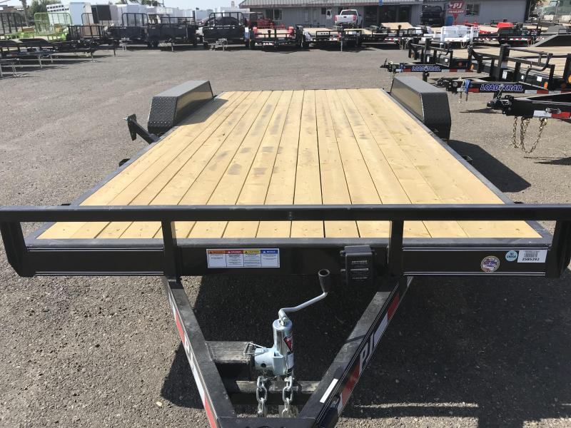 2019 PJ Trailers 16X5 Channel Carhauler