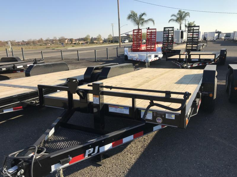 2018 PJ Trailers 16X6 Channel Equipment
