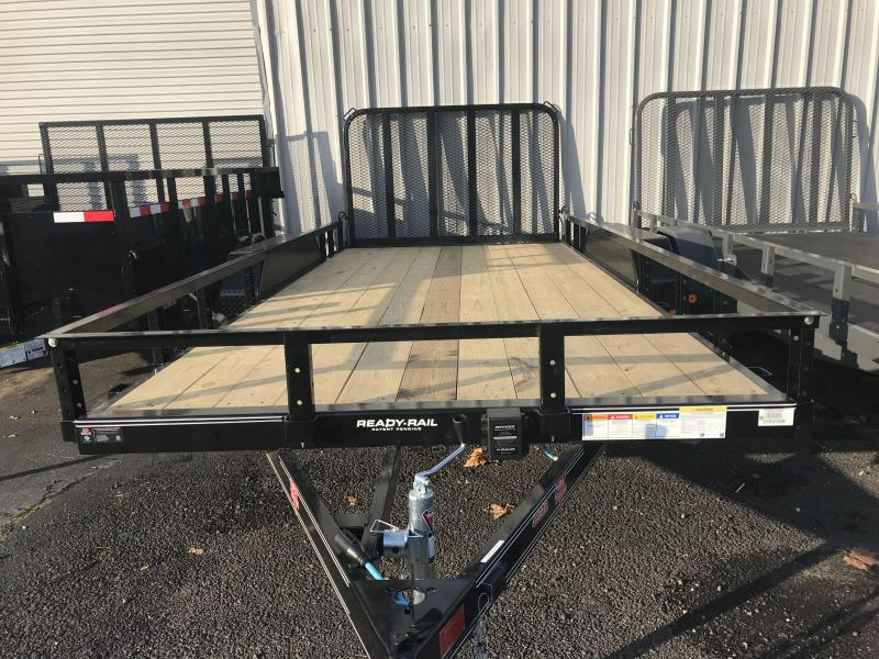 2019 PJ Trailers 16X83 Tandem Axle Channel Utility Trailer