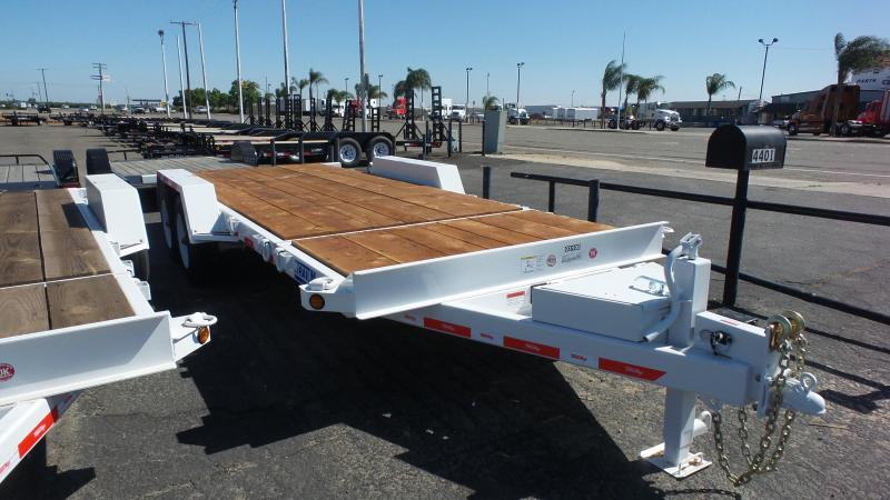 2017 Trailer Max T-16-UT (416) Flatbed Trailer