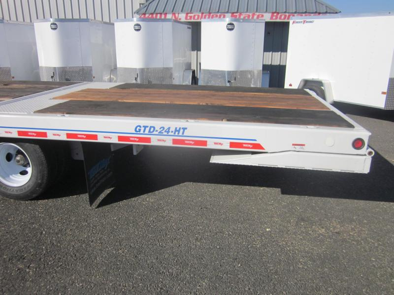 2017 TrailMax GDT-24-HT Flatbed Trailer