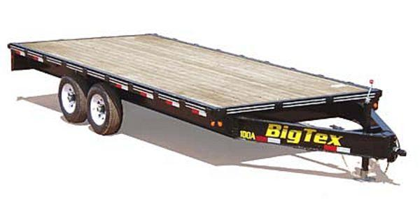 2014 Big Tex Trailers 10OA-20 Flatbed Trailer
