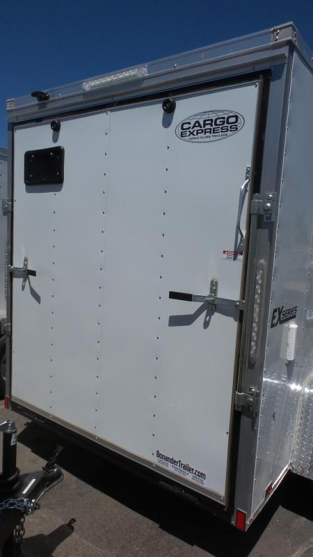 2018 Cargo Express 6X12 Wide Single Cargo Trailer