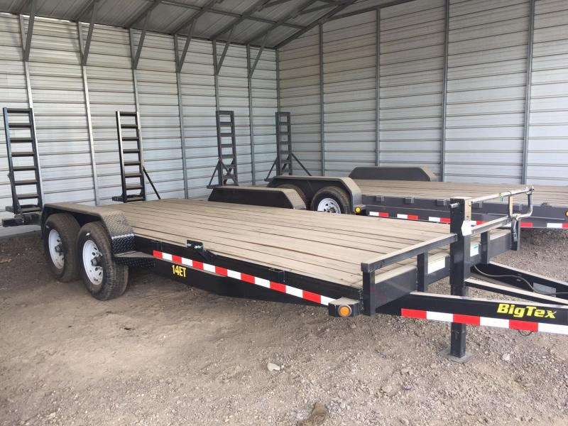 Big Tex Trailer 14ET- 20x7 Equipment Trailer