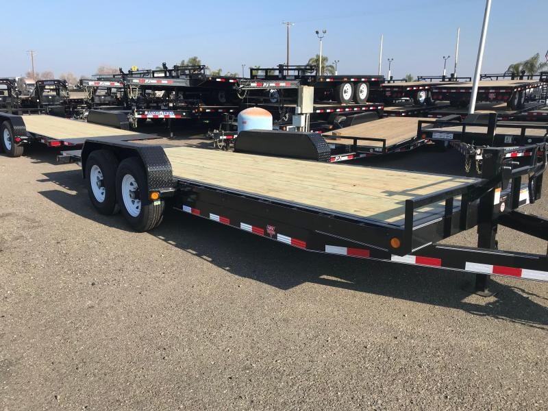 2019 PJ Trailers 20' Powered Full Tilt (TF) Car / Racing Trailer