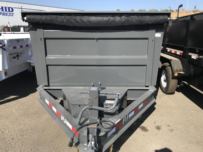 2019 PJ Trailers 12X83 Low-Pro High Side Dump
