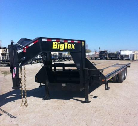 2015 Big Tex Trailers 22GN - 25BK Flatbed Trailer