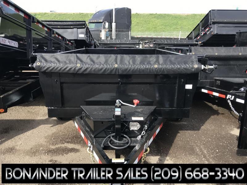 2019 PJ Trailers 10X72 Tandem Axle Dump (D3) Dump Trailer