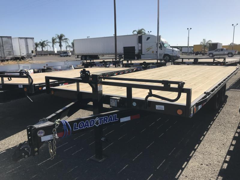 "2018 Load Trail 102""X20 Deckover Pintle Hook"