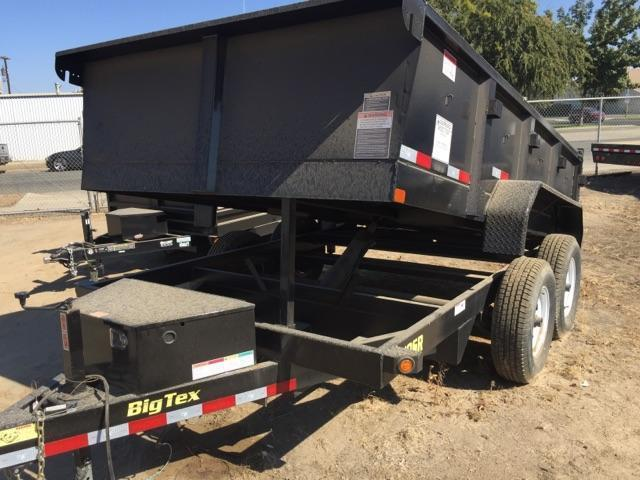 2016 Big Tex Trailers 10SR Dump Trailer 12x7