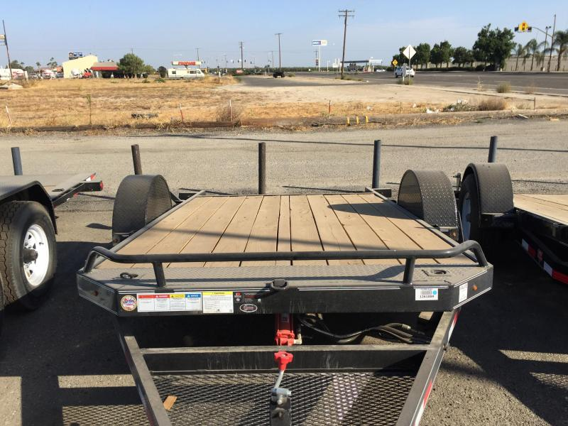 2016 PJ Trailers T1 Flatbed Trailer 13
